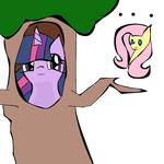 Twilight Trying To Be A Tree