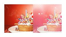 cupcake psd. by BTTRFLYKISS