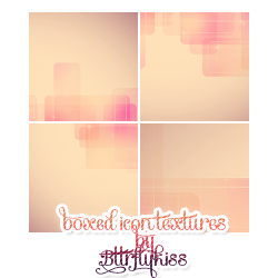 Boxed icontextures (set21) by BTTRFLYKISS