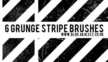 Grunge line brushes by akaleez88