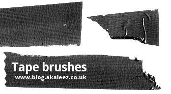 Tape brushes by akaleez88