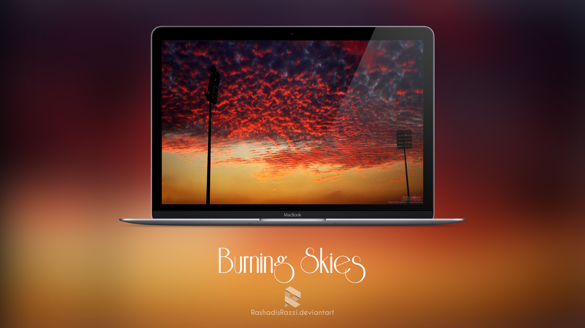 Burning Skies by rashadisrazzi