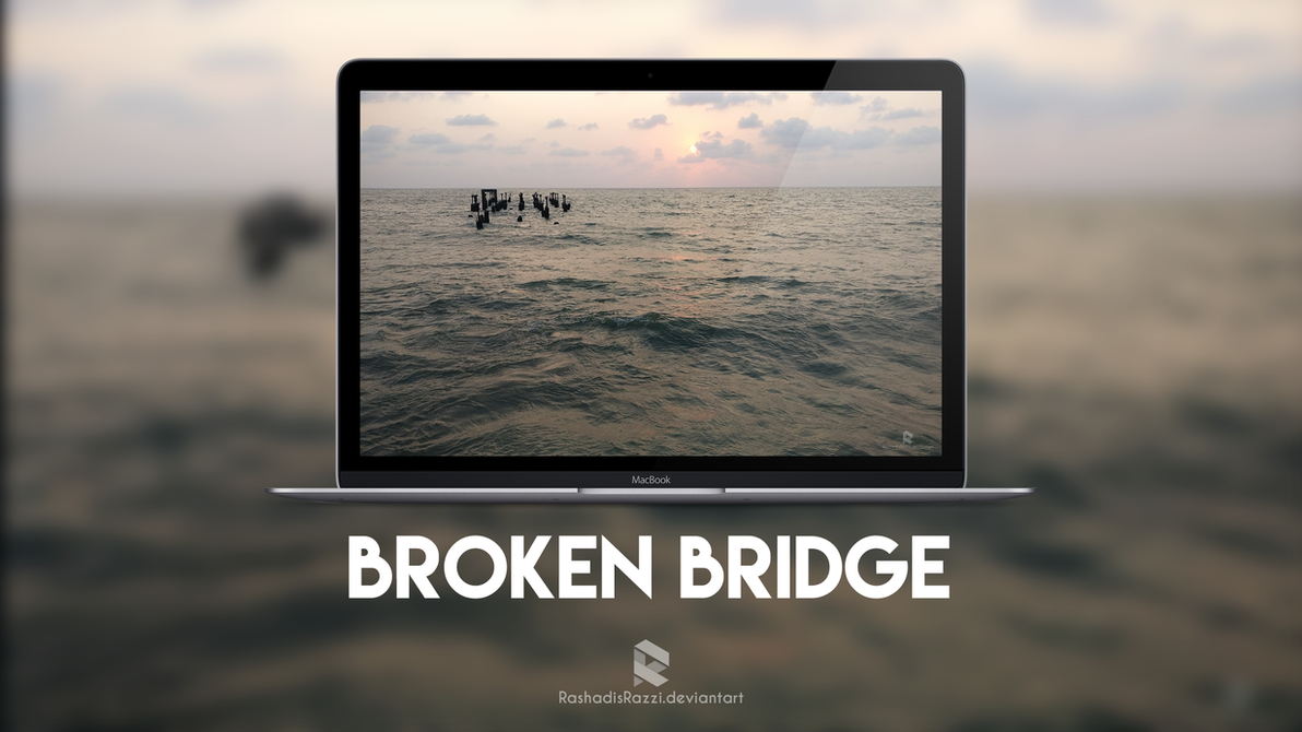 Broken Bridge by rashadisrazzi