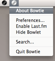 Bowtie Menubar Icon by brokenb-x