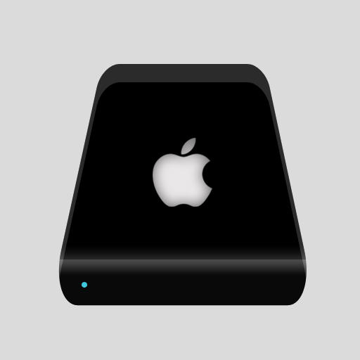 New Black glass Mac Hard Disk by FocusMan on DeviantArt