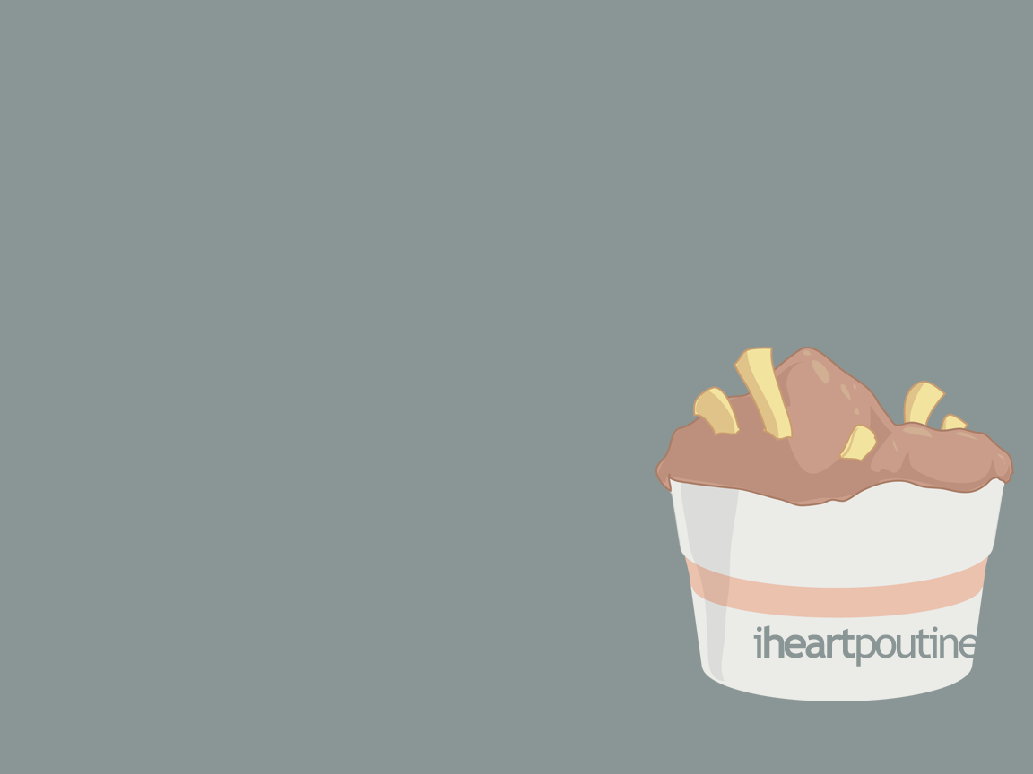 I Heart Poutine by pixelfish