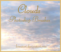 Cloud Photoshop Brushes by Whimsical-Dreams