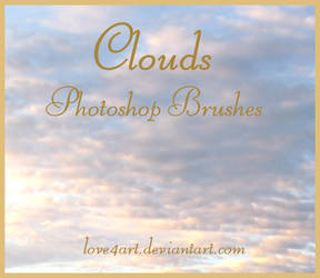 Cloud Photoshop Brushes