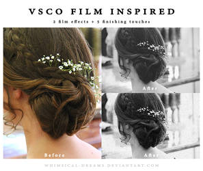 VSCO Film Inspired Photoshop Actions