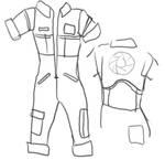 Chell Portal costume tutorial