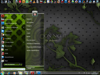 Poison Night Windows 7 VS by rumpibul