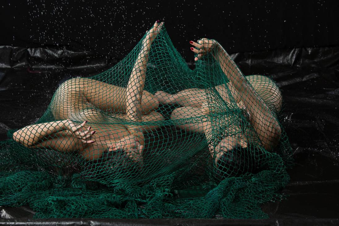 fishing net by ateliermoira