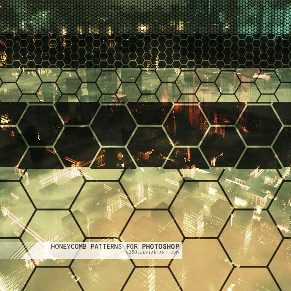 مكتبة الباترن 2013 ( اكبر تجميعه لملفات البآترن ) 2013 Honeycomb_Patterns_by_C130