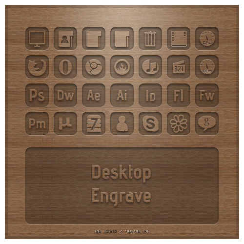 Desktop Engrave by TheDrake92