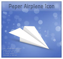 Paper Airplane Icon by TheDrake92