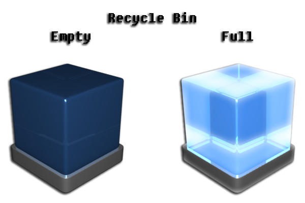 Retrieve recently deleted files from recycle bin