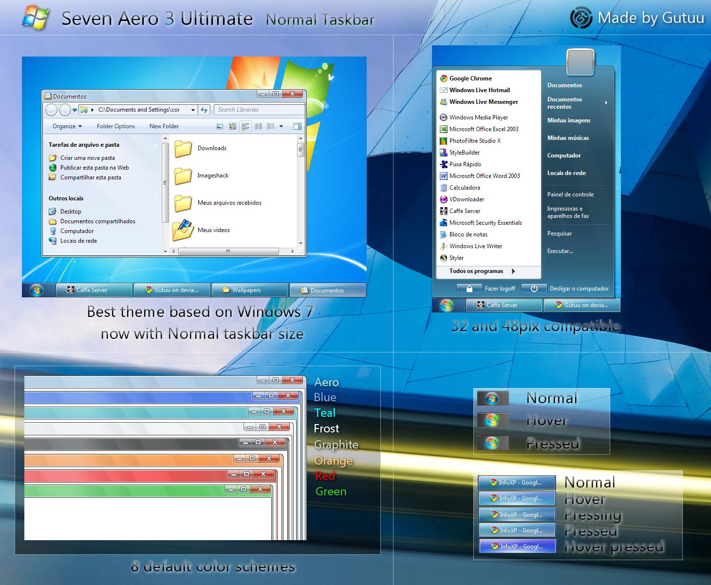 Tema Aero Para Windows 7