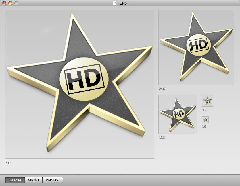 iMovie HD Icon '08,'09 Style by ReiterMarkus