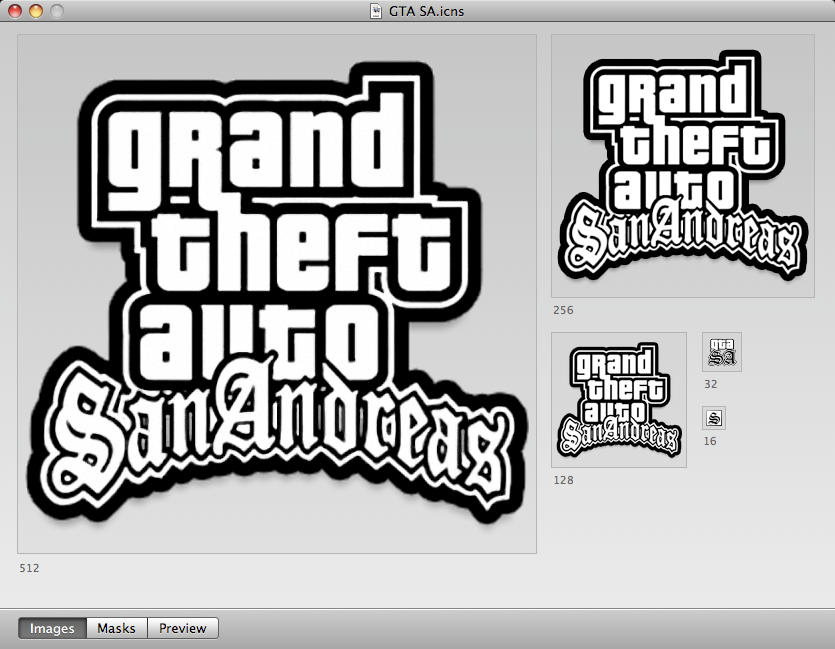 gta3 san andreas. GTA San Andreas Dock Icon by