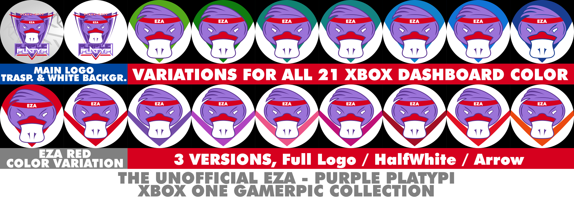 EasyAllies -Purple Platypi Gamerpics- Xbox One