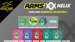XBOX GAMERPIC - Arms HELIX - Blue