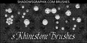 Rhinestone Photoshop Brushes