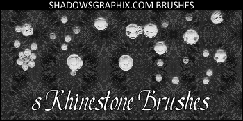 Rhinestone Photoshop Brushes by shadowedwolf8695