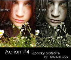 Action no.4-spooky portraits