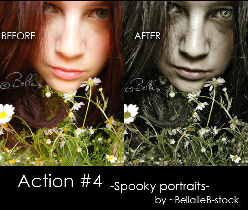 Action no.4-spooky portraits