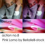 action no.8- lomo pink