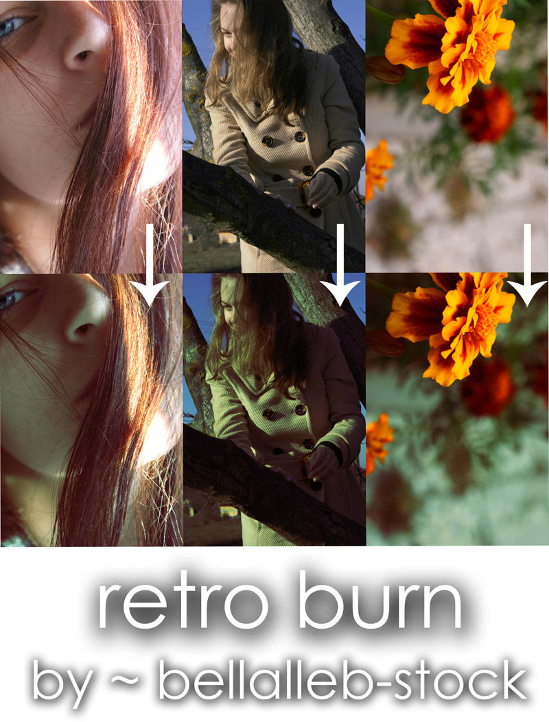 retro burn curves by bellalleb-stock