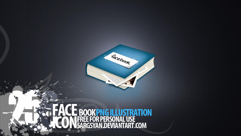 Facebook Icon by sargsyan