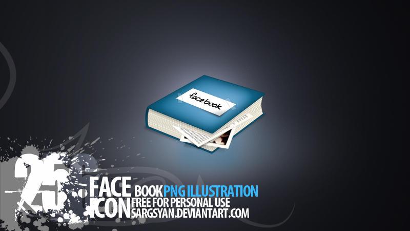 Facebook Icon by sargsyan