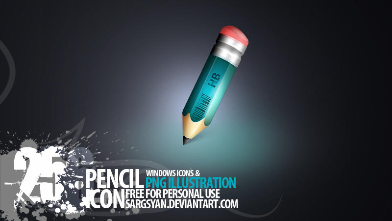 Pencil Icon by sargsyan