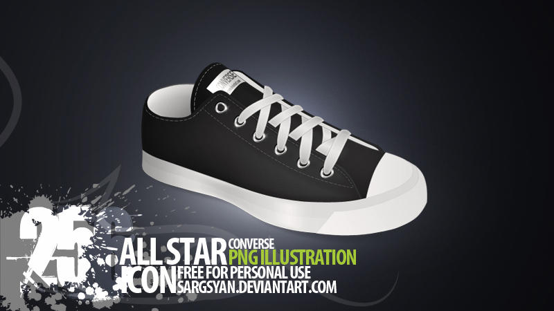 Allstar Converse Icon by sargsyan