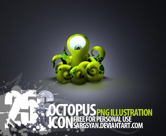 Octopus by sargsyan