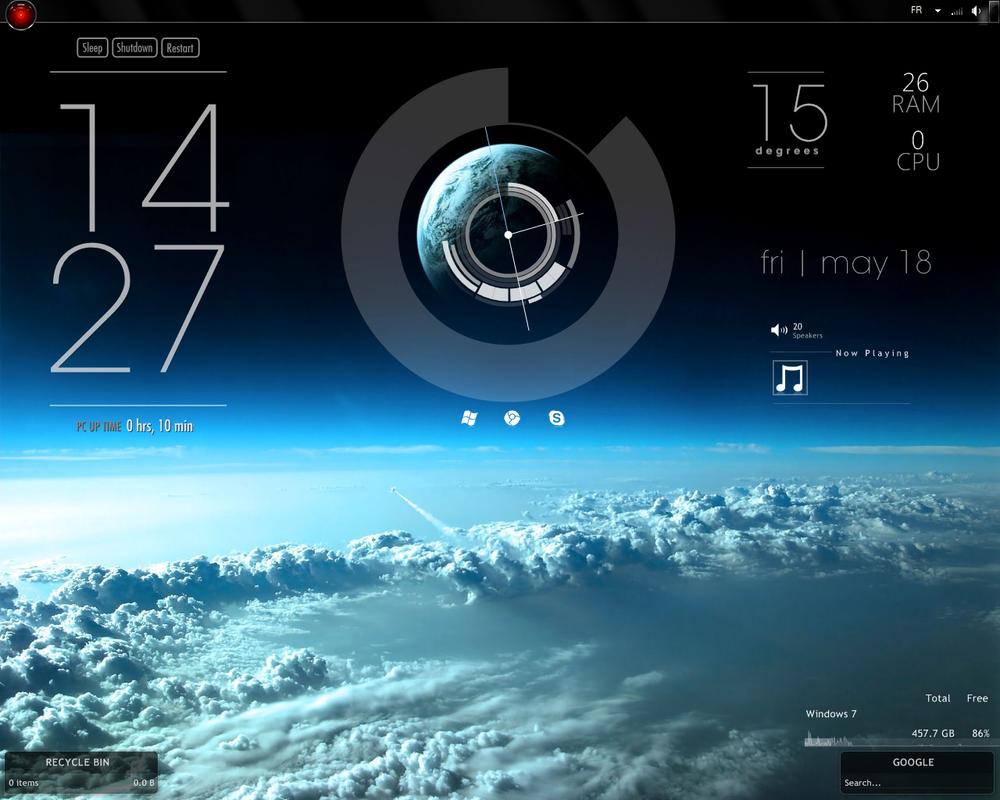 rainmeter windows 10 player skins csgo