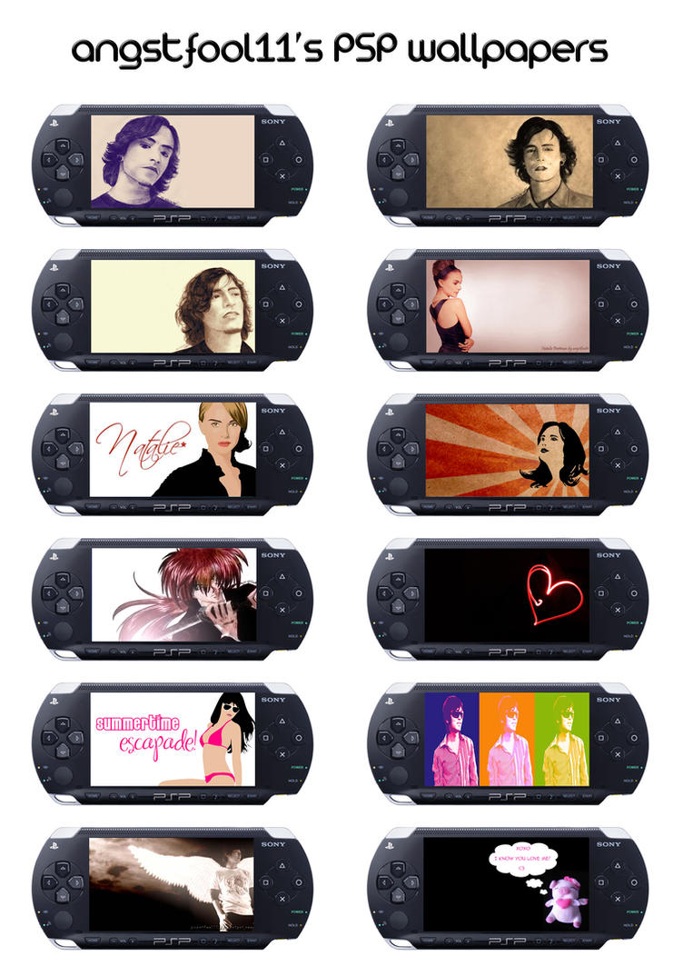 Lizzie's PSP Wallpaper Pack by angstfool11