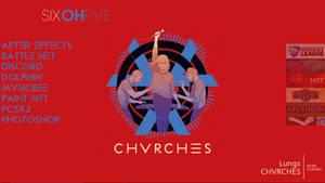 Rainmeter - CHVRCHES Theme