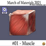 Material March 2021 - 01 Muscle by Alka-Di-Kijarr