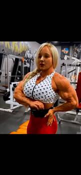 Super Big Muscle Teen Girl