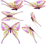 SWALLOW-TAIL-BUTTERFLY psd zip download