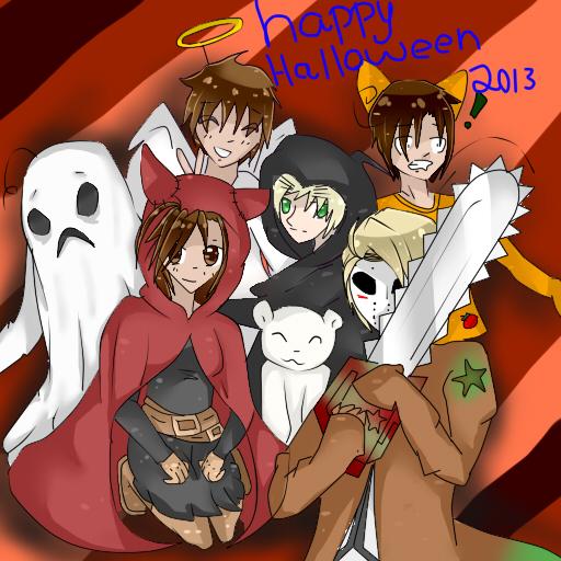Halloween Special! Hetalia x Reader by xxxRainbowkittyxx on