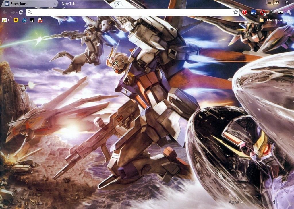 Gundam by BlodVark