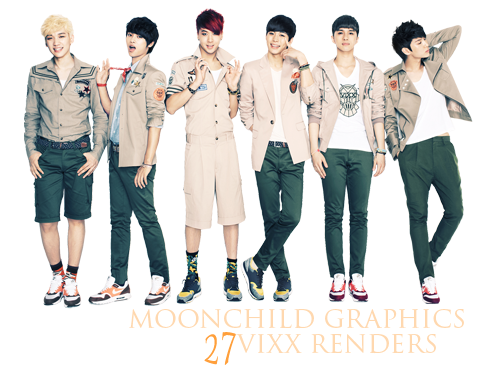 Vixx Renders by amy91luvKey