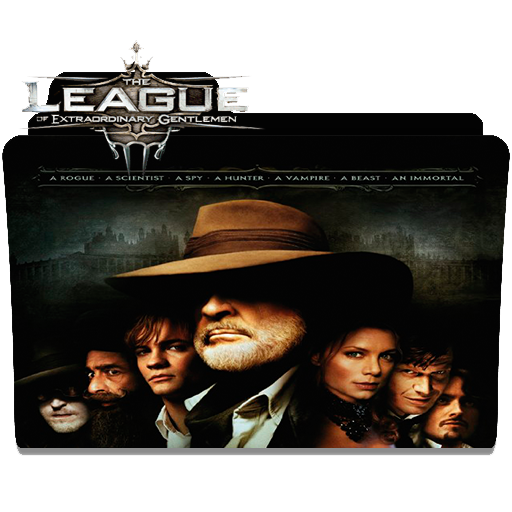 The League Of Extraordinary Gentlemen Folder Icon By Charlitosway78 On Deviantart