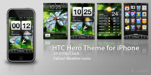 HTC Hero for iPhone by MrMAU