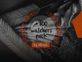 +400 WATCHERS PACK by Alkindii