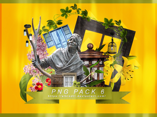 PNG PACK #6 by Alkindii
