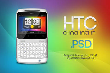 HTC Chachacha PSD by cestnms